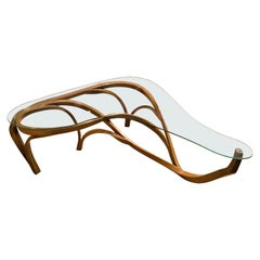 Lapus Contemporary Coffee Table, an Abstract Centerpiece, Large Coffee Table