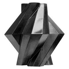 Lara Bohinc, Fortress Pillar Vase, Iron Ceramic, in Stock