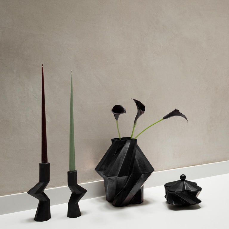 Lara Bohinc, Fortress Treasury Box, Iron Ceramic, in Stock In New Condition For Sale In London, GB