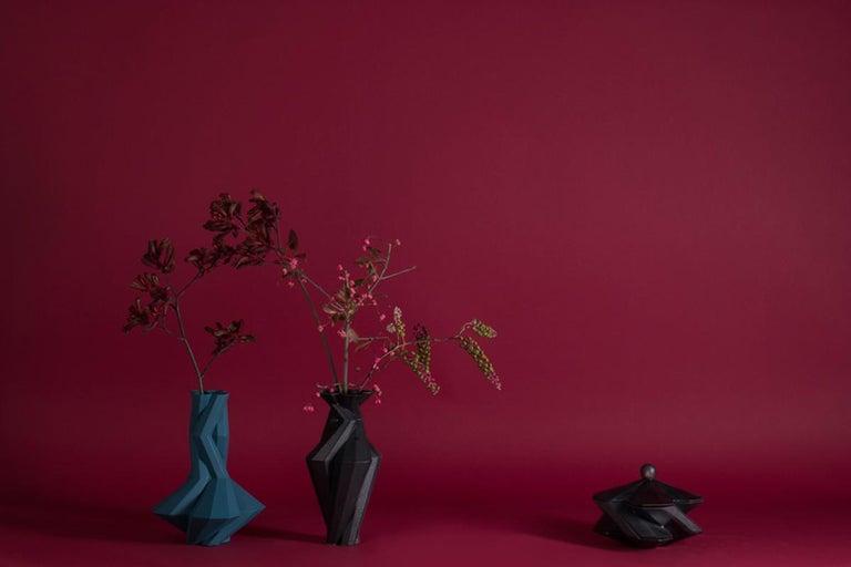 Contemporary Lara Bohinc, Fortress Treasury Box, Iron Ceramic, in Stock For Sale