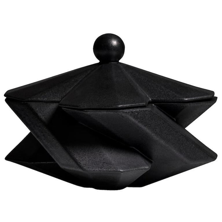Lara Bohinc, Fortress Treasury Box, Iron Ceramic, in Stock For Sale