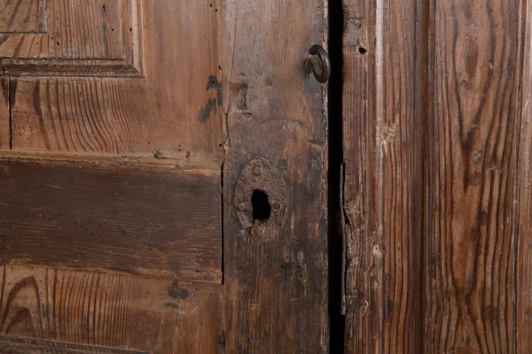 18th Century and Earlier Larch Cupboard, Italy, circa 1600 For Sale