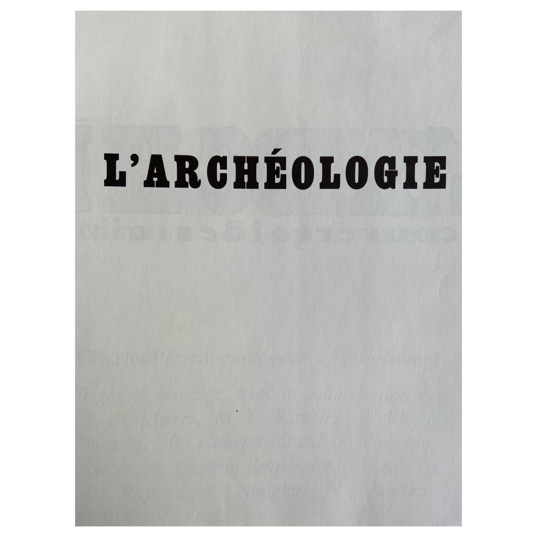 L'Archeologie Larousse Paris 1969