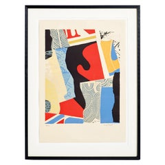 Large Lithograph by Max Papart (1911-1994)