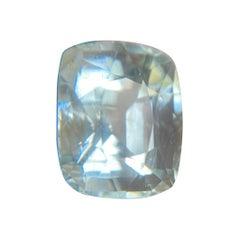 Large 14.10ct Fine Blue Aquamarine Cushion Cut Top Grade Beryl Gemstone