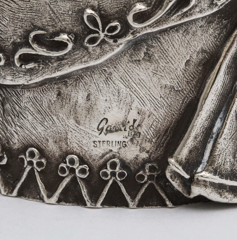 Large 17th Century-Style Sterling Silver Wager/Marriage Cup 4