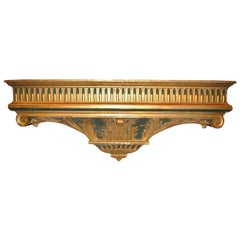 Large 18th c. Carved and Gilded Wall Console