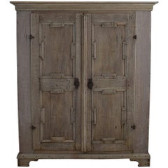 Large 18th Century Dutch Oak Armoire, Cabinet