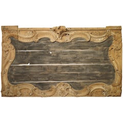 Large 18th Century French Oak Boiserie Trumeau Panel