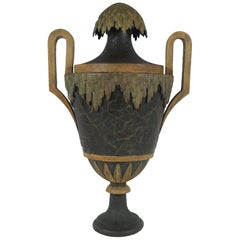 Large 18th Century French Tole Urn
