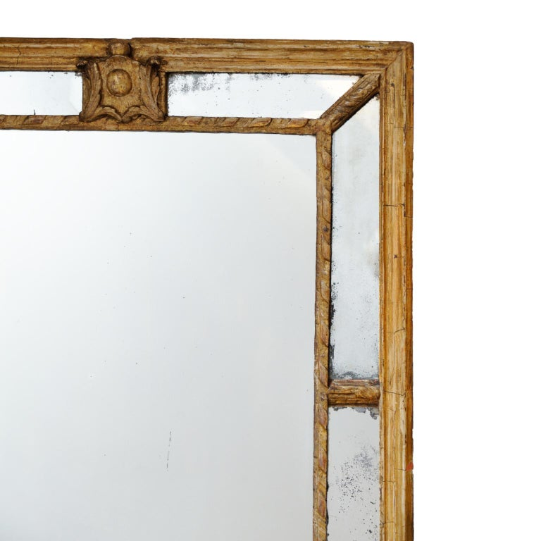 Large 18th Century Italian Giltwood Mirror, ​circa 1760 In Good Condition In Tetbury, Gloucestershire