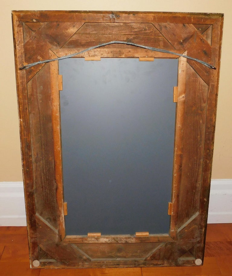Large 18th Century Italian Gold Framed Mirror For Sale 6