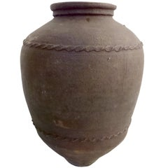 Large 19th Century Italian Terracotta Jar
