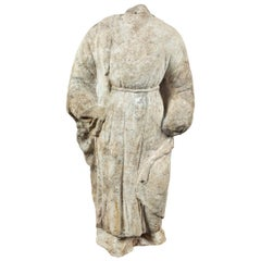 Large, 18th Century Marble Figure