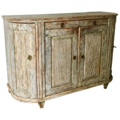 Large 18th Century Swedish Gustavian Period Sideboard