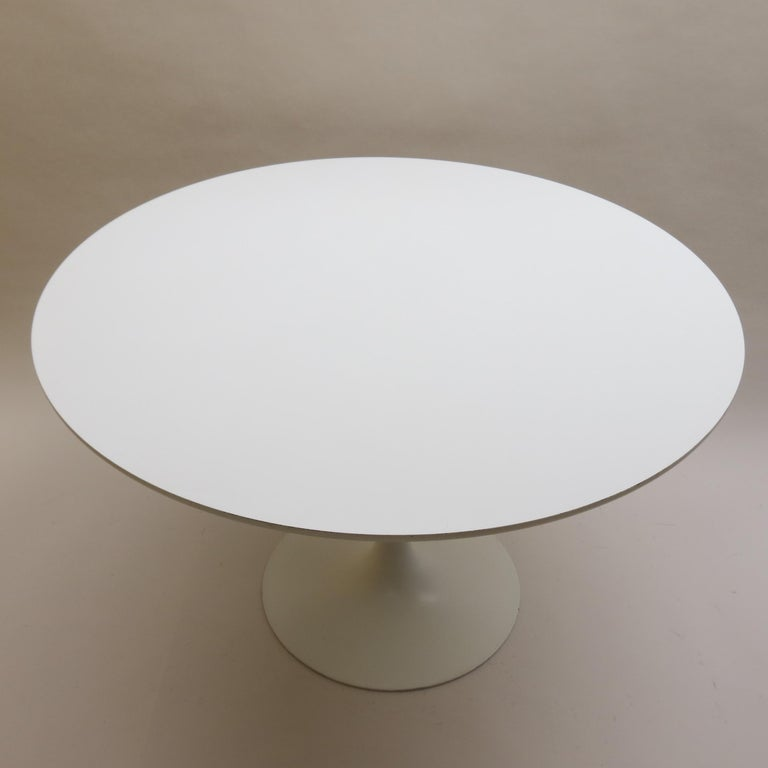 20th Century Large 1960s Arkana Tulip Dining Table by Maurice Burke For Sale