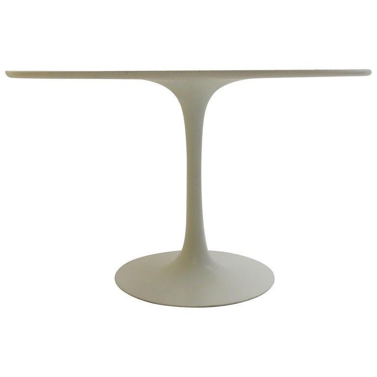 Large 1960s Arkana Tulip Dining Table by Maurice Burke For Sale