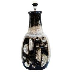 Large 1960s Ceramic Lamp