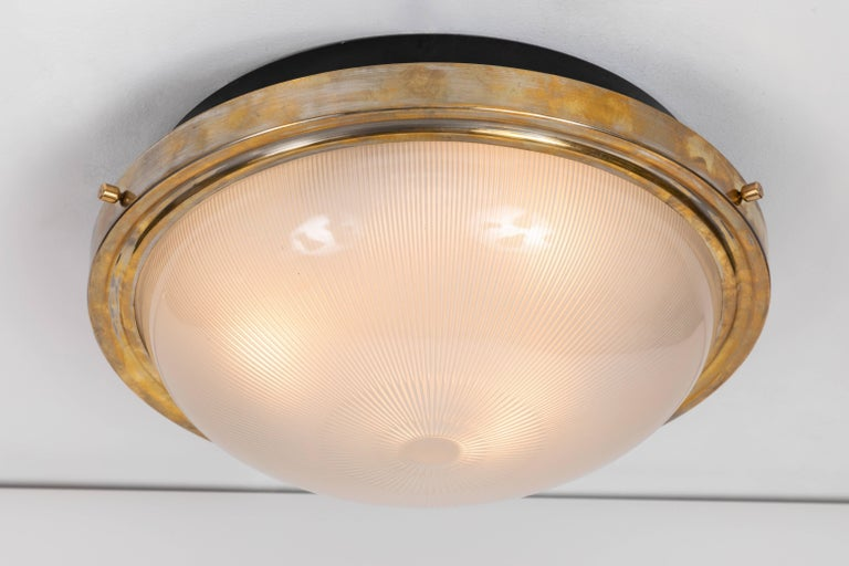 Mid-Century Modern Large 1960s Sergio Mazza Wall or Ceiling Light for Artemide