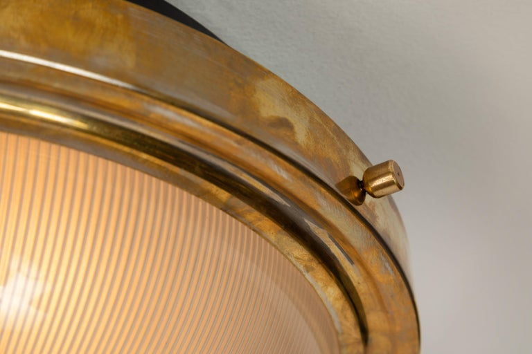 Mid-20th Century Large 1960s Sergio Mazza Wall or Ceiling Light for Artemide