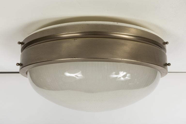 Mid-20th Century Large 1960s Sergio Mazza Wall or Ceiling Light for Artemide For Sale