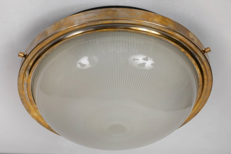 Large 1960s Sergio Mazza Wall or Ceiling Light for Artemide 2