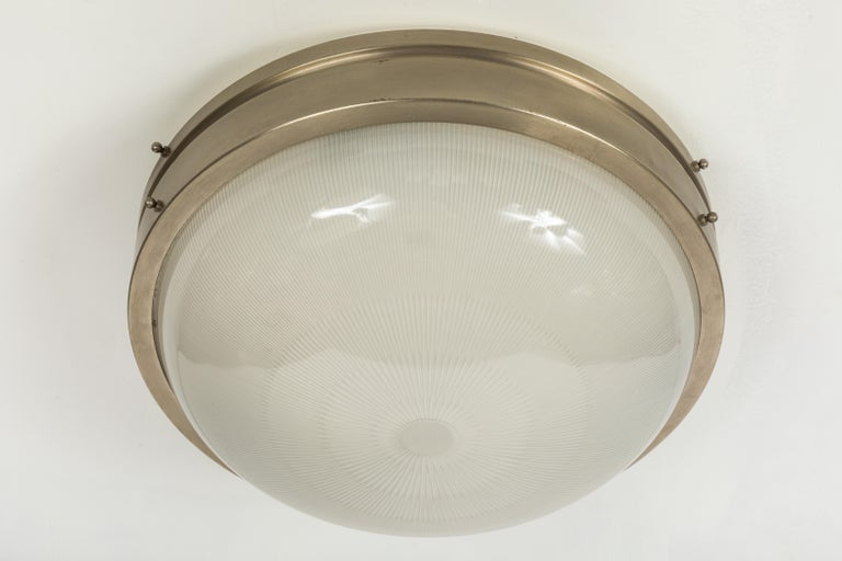 Large 1960s Sergio Mazza Wall or Ceiling Light for Artemide For Sale 1