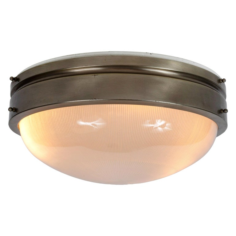 Large 1960s Sergio Mazza Wall or Ceiling Light for Artemide For Sale