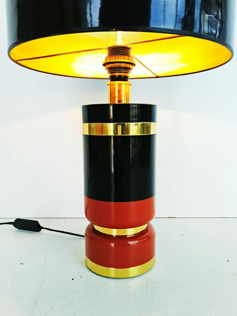 20th Century Large 1970s Table Lamp For Sale