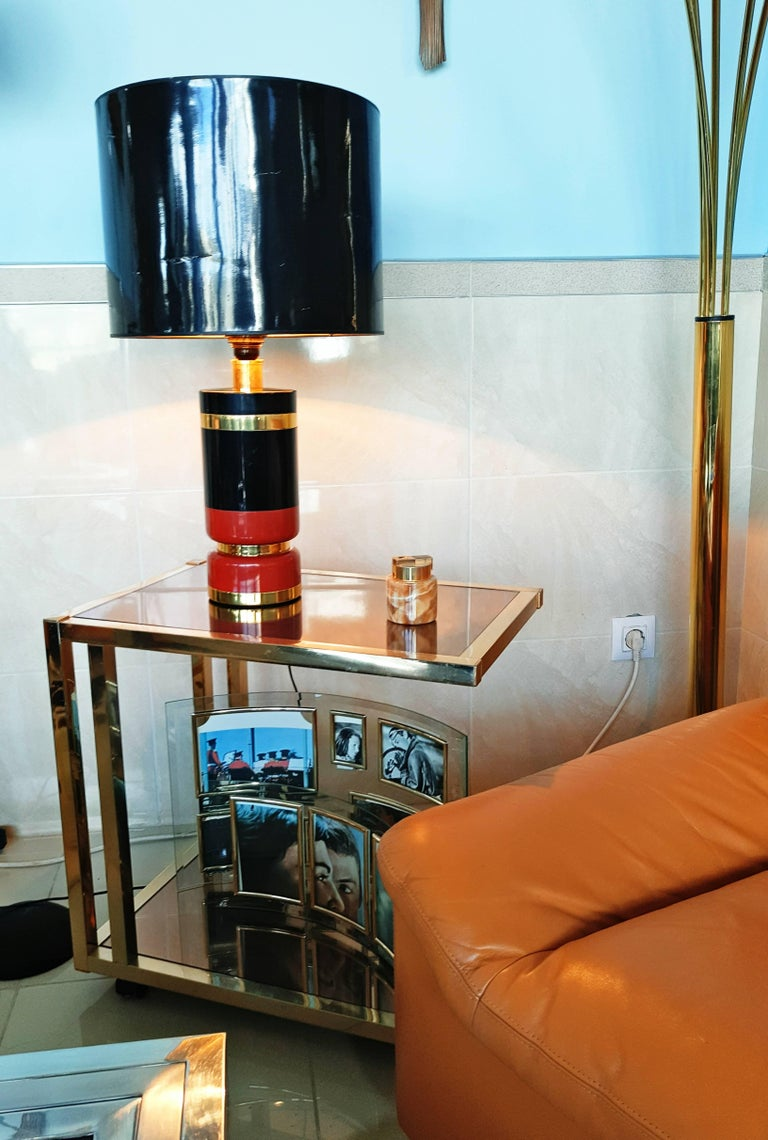 Large 1970s Table Lamp For Sale 2