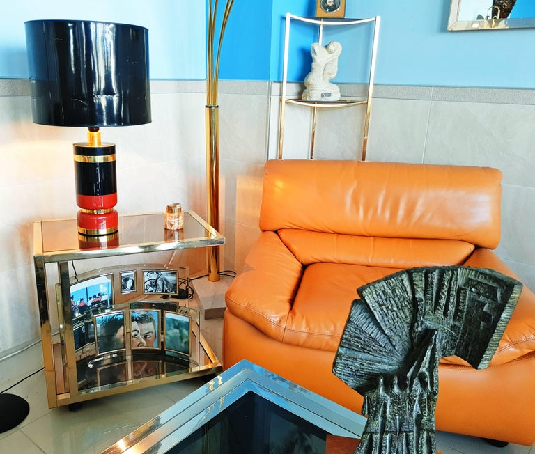 Large 1970s Table Lamp For Sale 3