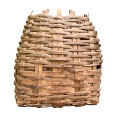 Large 19th Century American Nut Basket