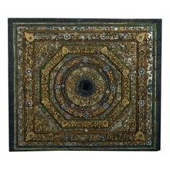 Large 19th Century Antique Burmese Panel
