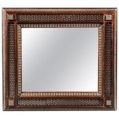 Large 19th Century Arts & Craft Liberty Moorish Mirror