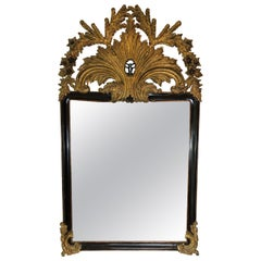 Large 19th Century Belle Époque Gilt Mirror