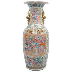 Large 19th Century Cantonese / Rose Medallion Vase