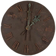 Large 19th Century Clock Face