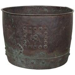 Large 19th Century English Copper Pot