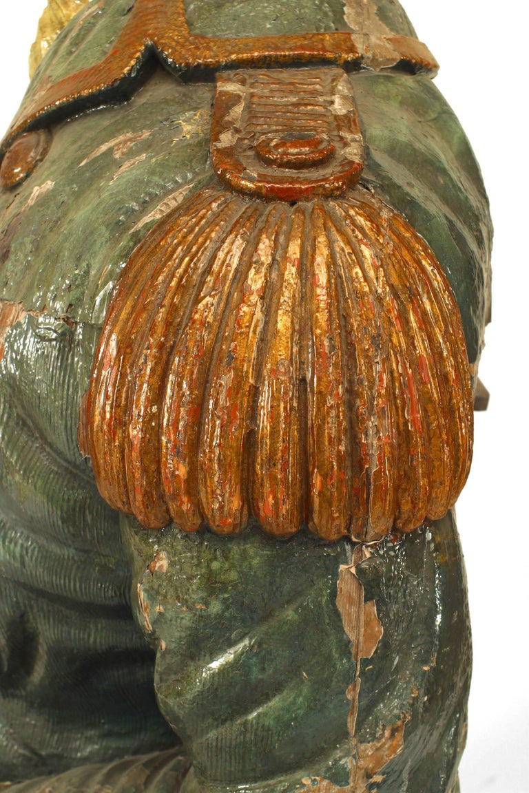 Large 19th Century English Lord Nelson Figurehead For Sale 6