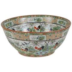 Chinesische export rosenmedaillon porzellanvase oder for Mobel 19 jahrhundert