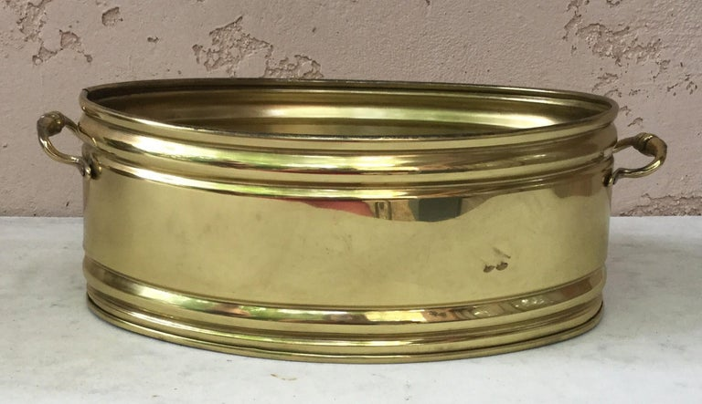 Large 19th Century, French Copper Pie Platter Pan For Sale 2