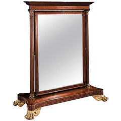 Large 19th Century French Second Empire Dressing Mirror