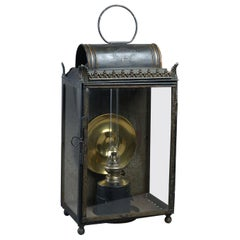 Large 19th Century French Toleware Lantern