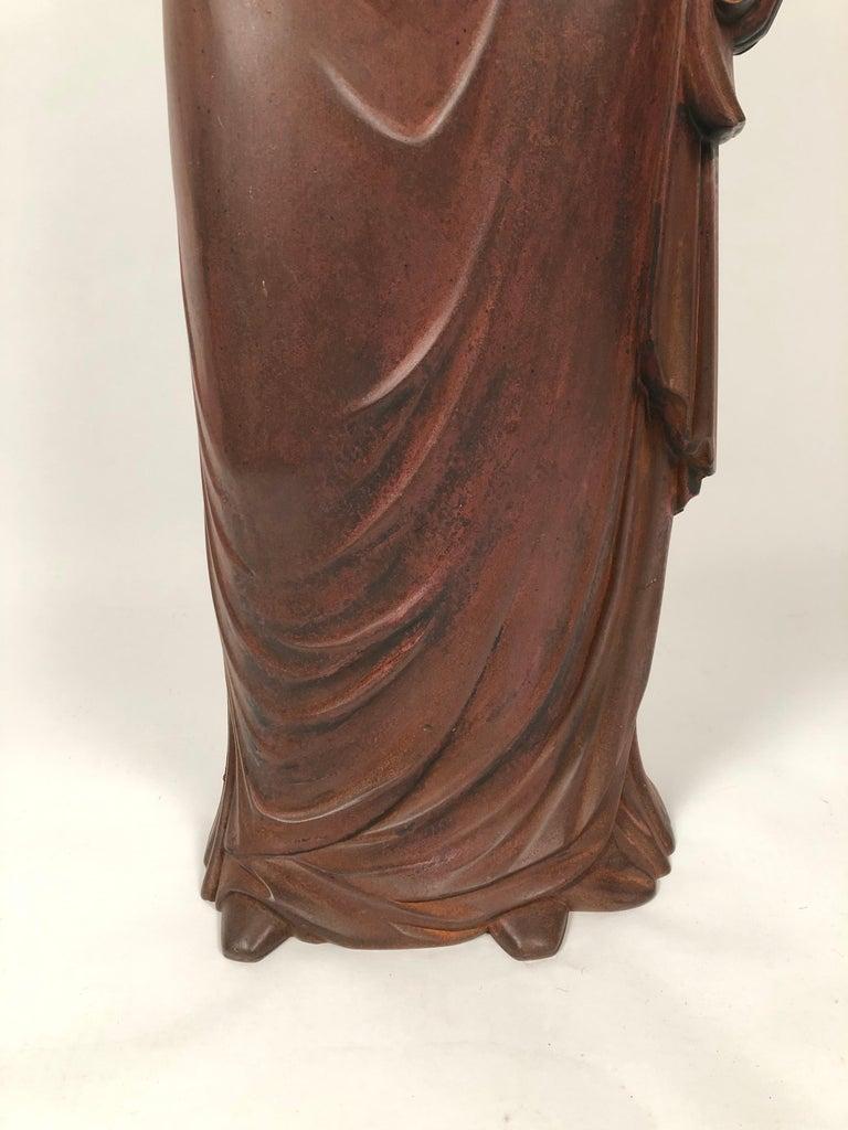 George Washington Cast Iron Stove Figure, circa 1840s For Sale 6