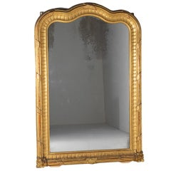 Large French 19th Century Gilt Mirror