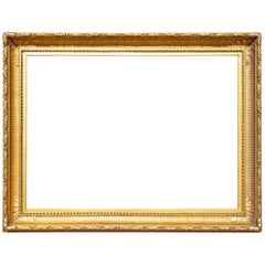 Large 19th Century Gilt Picture or Mirror Frame