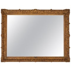 Large 19th Century Giltwood Framed Mirror