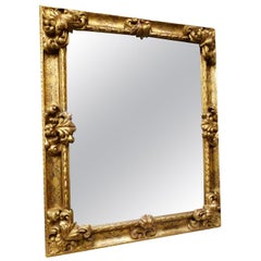 Large 19th Century Giltwood Mirror, Louis XY Style Revival