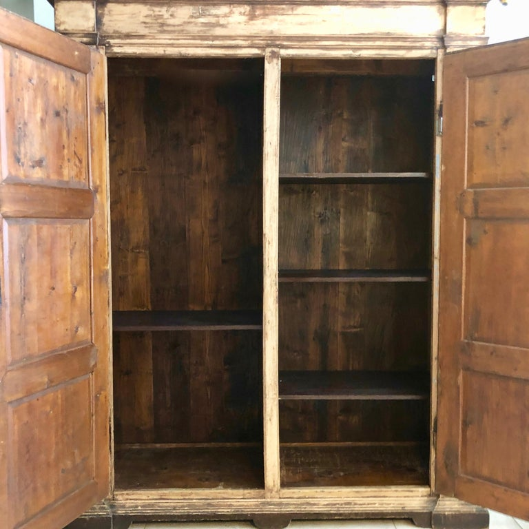 Large 19th Century Italian Cabinet For Sale 7