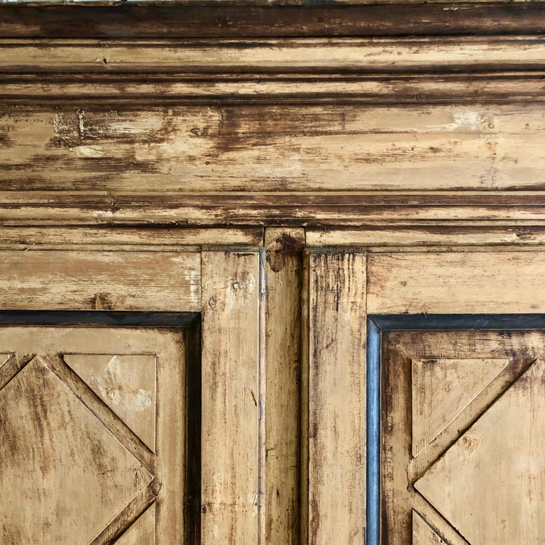 Large 19th Century Italian Cabinet For Sale 1